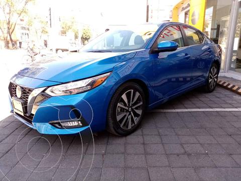 Nissan Sentra Version usado (2020) color Azul precio $445,000