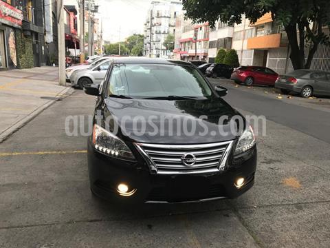 Nissan Sentra Advance usado (2016) color Negro precio $185,000
