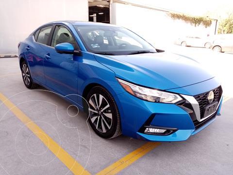 Nissan Sentra Exclusive Aut usado (2020) color Azul precio $445,000