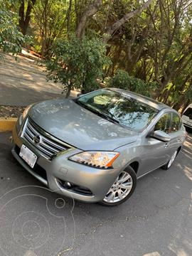 Nissan Sentra Exclusive Aut NAVI usado (2013) color Gris Oxford precio $130,000
