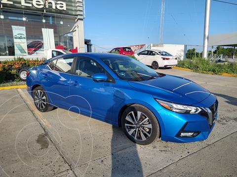 Nissan Sentra Exclusive Aut usado (2020) color Azul precio $420,000