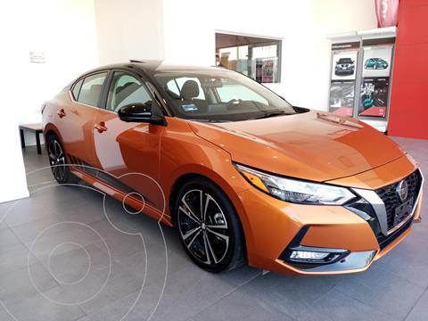 Nissan Sentra SR Turbo usado (2020) color Naranja precio $400,000