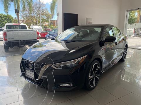 Nissan Sentra SR  usado (2020) color Negro precio $445,000