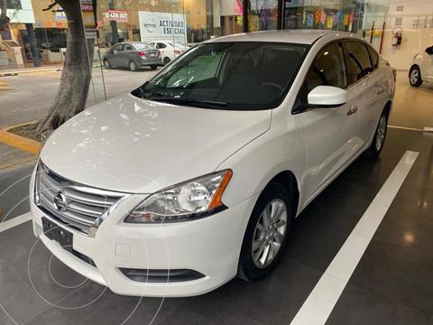 Nissan Sentra Sense Aut usado (2016) color Blanco precio $182,900