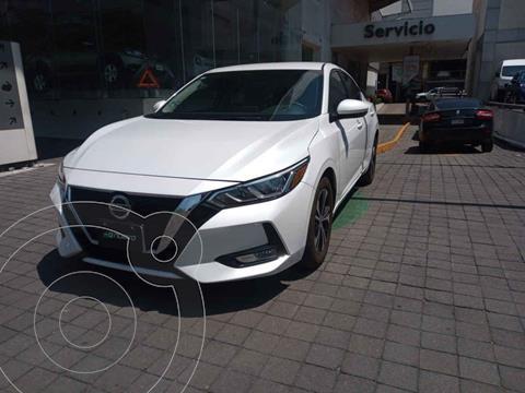 Nissan Sentra Version usado (2020) color Blanco precio $325,000
