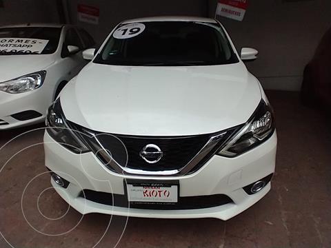 Nissan Sentra Advance Aut usado (2019) color Blanco precio $309,000