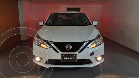 Nissan Sentra Advance Aut usado (2019) color Blanco precio $260,000