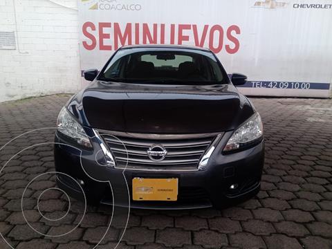 Nissan Sentra Advance usado (2014) color Gris Oscuro precio $175,000