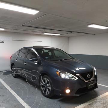Nissan Sentra Exclusive Aut NAVI usado (2017) color Azul precio $235,000