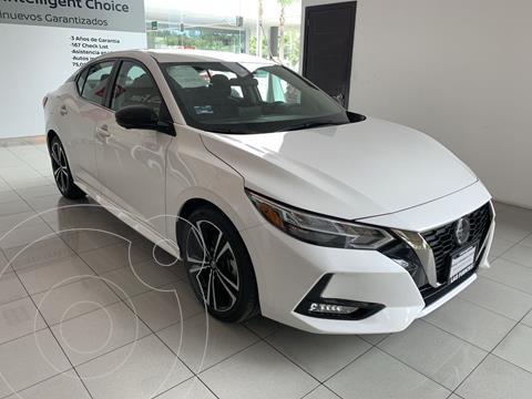 Nissan Sentra SR  usado (2020) color Blanco precio $451,000