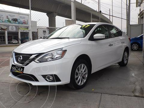 Nissan Sentra Advance Aut usado (2017) color Blanco precio $197,000