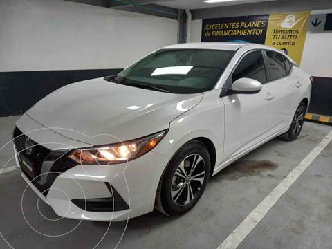 Nissan Sentra Sense Aut usado (2021) color Blanco precio $334,000