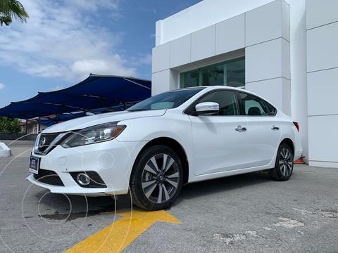 Nissan Sentra Exclusive Aut usado (2019) color Blanco precio $417,000