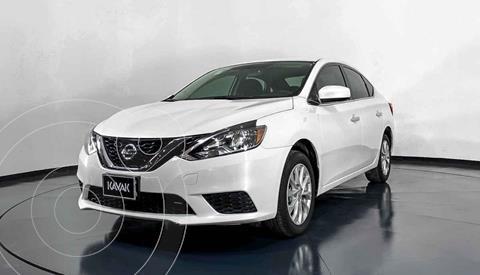 Nissan Sentra Sense Aut usado (2019) color Blanco precio $265,999