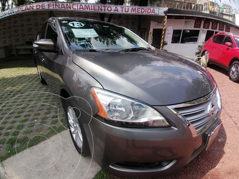 Nissan Sentra Advance Aut usado (2013) color Gris Oxford precio $155,000