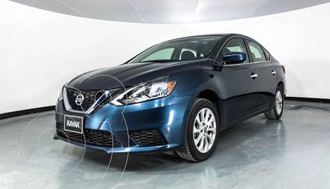 Nissan Sentra Advance Aut usado (2018) color Azul precio $189,999