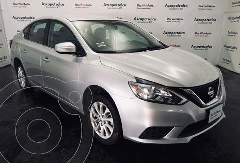 Nissan Sentra Sense Aut usado (2018) color Plata precio $209,990