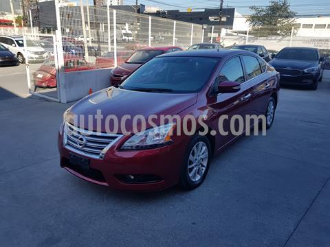 Nissan Sentra Advance Aut usado (2016) color Rojo precio $185,000