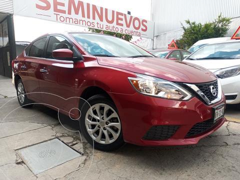 Nissan Sentra Sense usado (2018) color Rojo precio $239,800