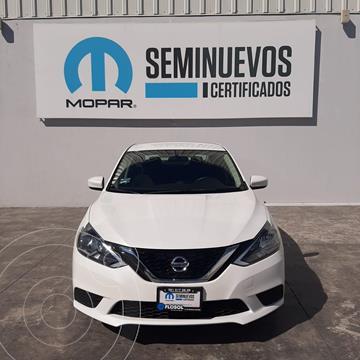 Nissan Sentra Sense usado (2018) color Blanco precio $205,000