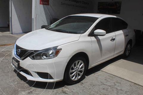 Nissan Sentra Sense usado (2018) color Blanco precio $225,000