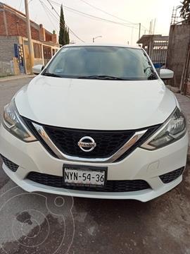 Nissan Sentra Sense usado (2017) color Blanco precio $180,000