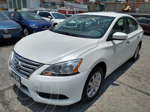 Nissan Sentra SENSE 4P L4 1.8L ABS AC R16 MT usado (2013) color Blanco precio $155,000