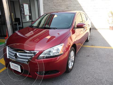 Nissan Sentra Advance usado (2016) color Rojo precio $170,000