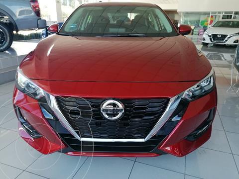 Nissan Sentra Advance usado (2020) color Rojo precio $351,900