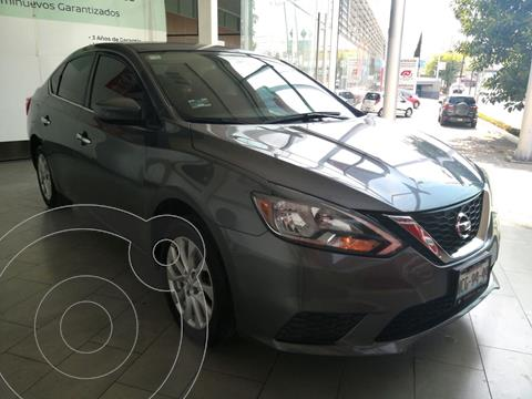 Nissan Sentra Sense usado (2018) color Gris Oxford precio $193,000
