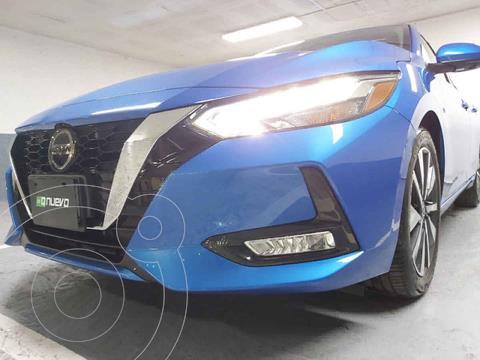 Nissan Sentra Version usado (2020) color Azul precio $419,000