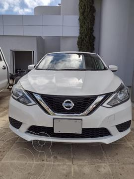 Nissan Sentra Sense Aut nuevo color Blanco financiado en mensualidades(enganche $50,000)