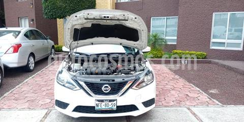 Nissan Sentra Sense usado (2017) color Blanco precio $158,000