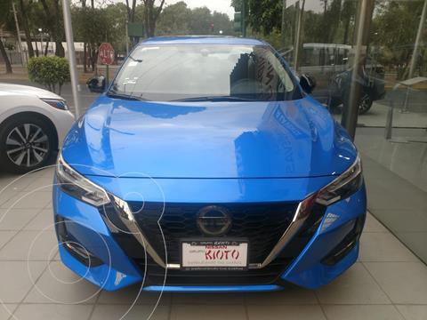 Nissan Sentra SR Aut usado (2020) color Azul precio $369,000