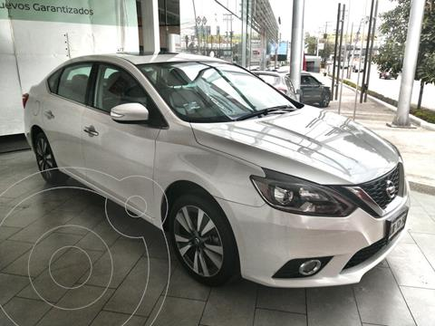 Nissan Sentra Exclusive Aut usado (2019) color Blanco Perla precio $335,000