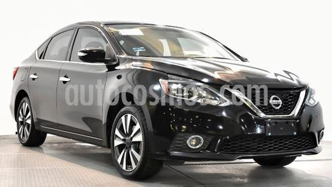Nissan Sentra Exclusive NAVI Aut usado (2017) color Negro precio $190,000