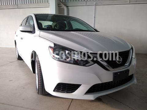 Nissan Sentra Sense usado (2018) color Blanco precio $195,000