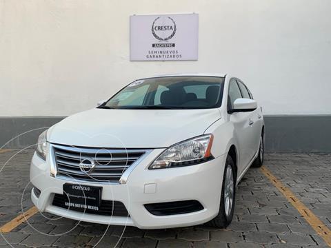 Nissan Sentra Sense usado (2016) color Blanco precio $159,900
