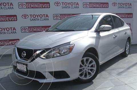 Nissan Sentra Sense usado (2019) color Plata Dorado precio $250,000