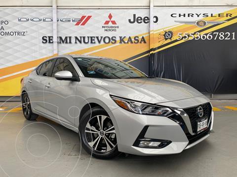 Nissan Sentra Advance usado (2020) color Plata Dorado precio $360,000