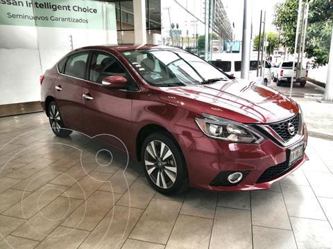 foto Nissan Sentra Exclusive Aut  usado (2018) color Rojo Metalizado precio $275,000