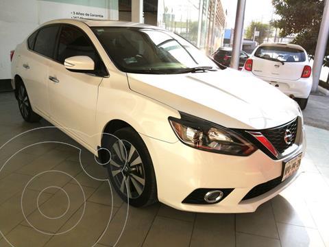 Nissan Sentra Exclusive Aut usado (2019) color Blanco Perla precio $310,900