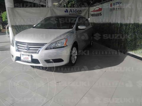 Nissan Sentra Exclusive NAVI Aut usado (2016) color Plata precio $205,000