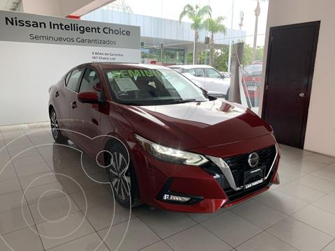 Nissan Sentra Exclusive Aut usado (2020) color Rojo precio $450,000