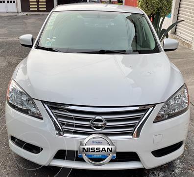 Nissan Sentra Sense Aut usado (2016) color Blanco precio $160,000