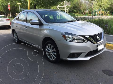 Nissan Sentra Sense Aut usado (2017) color Plata precio $205,000