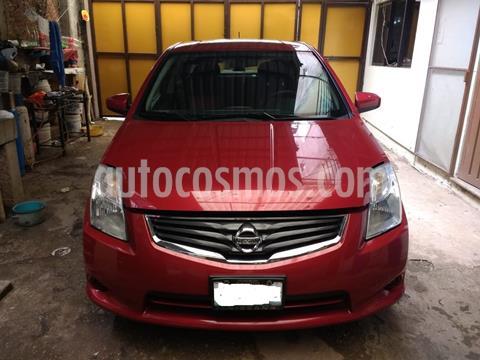 Nissan Sentra Custom CVT Xtronic usado (2012) color Rojo Burdeos precio $114,000