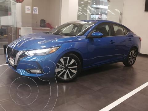 Nissan Sentra Exclusive Aut usado (2020) color Azul precio $428,900