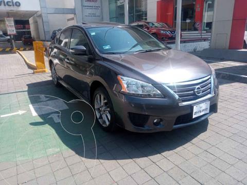 Nissan Sentra SR Aut NAVI usado (2013) color Gris precio $190,000