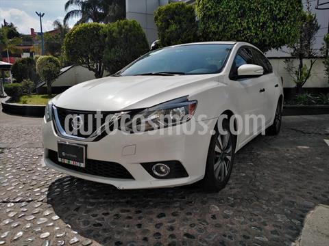 Nissan Sentra EXCLUSIVE CVT MY usado (2017) color Blanco precio $225,000